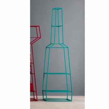 Bonaldo Aprilie 210x60cm biblioteca metalica de design color realizata in Italia