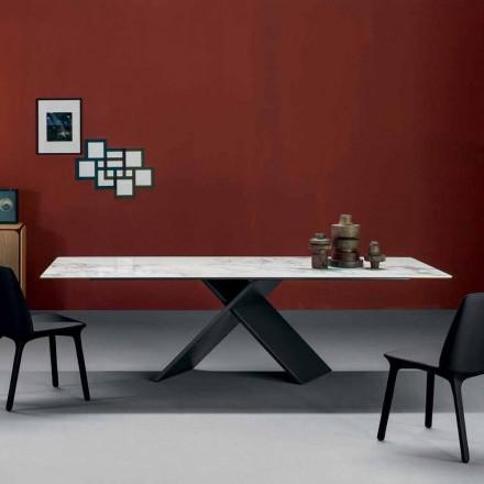 Bonaldo Ax masă de design plat în baza de metal ceramică făcute în Italia