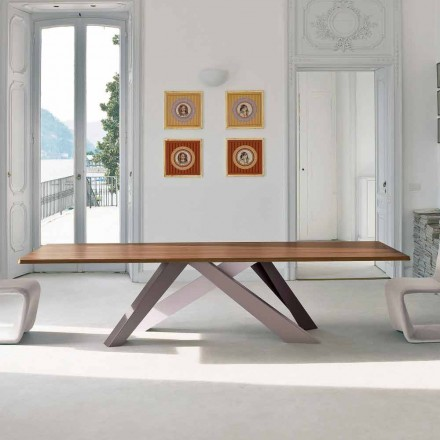 Bonaldo Big Table masă de lemn furniruit din Italia design