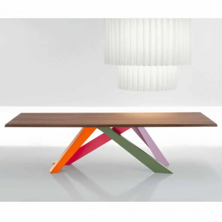 Bonaldo Big Table masă de lemn de nuc american din Italia