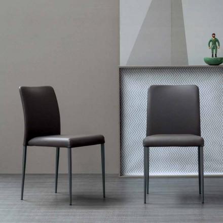 Bonaldo Deli scaun de design cu scaun tapitat fabricat în Italia