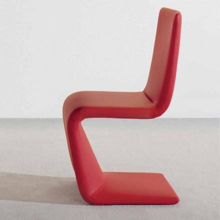 Bonaldo Venere scaun modern de design tapițat în piele făcute în Italia