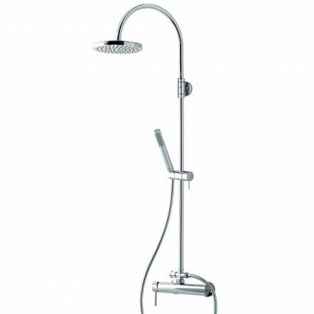 Coloană de duș Bossini cu mixer cu o singură pârghie Oki Column