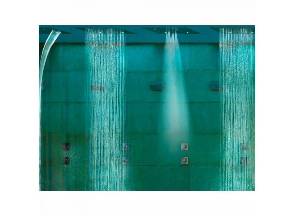 cap de duș Bossini de vis cu funcții de cromoterapie și patru