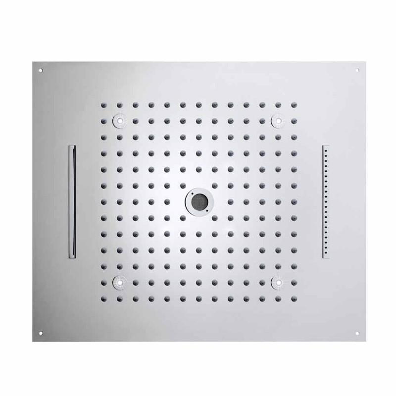 Bossini vis cap de duș modern cu lumini LED și patru funcții