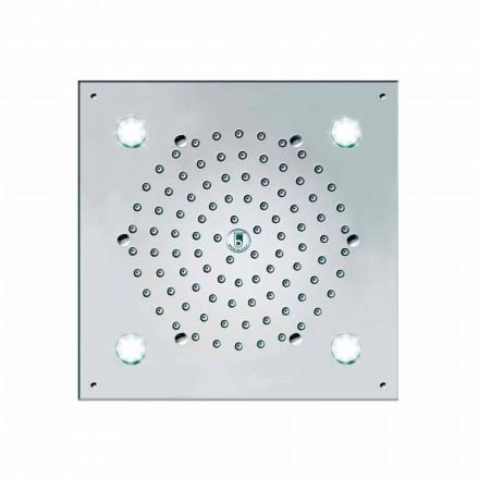 Cap de duș Bossini 4 Lumini Led Cube-Light