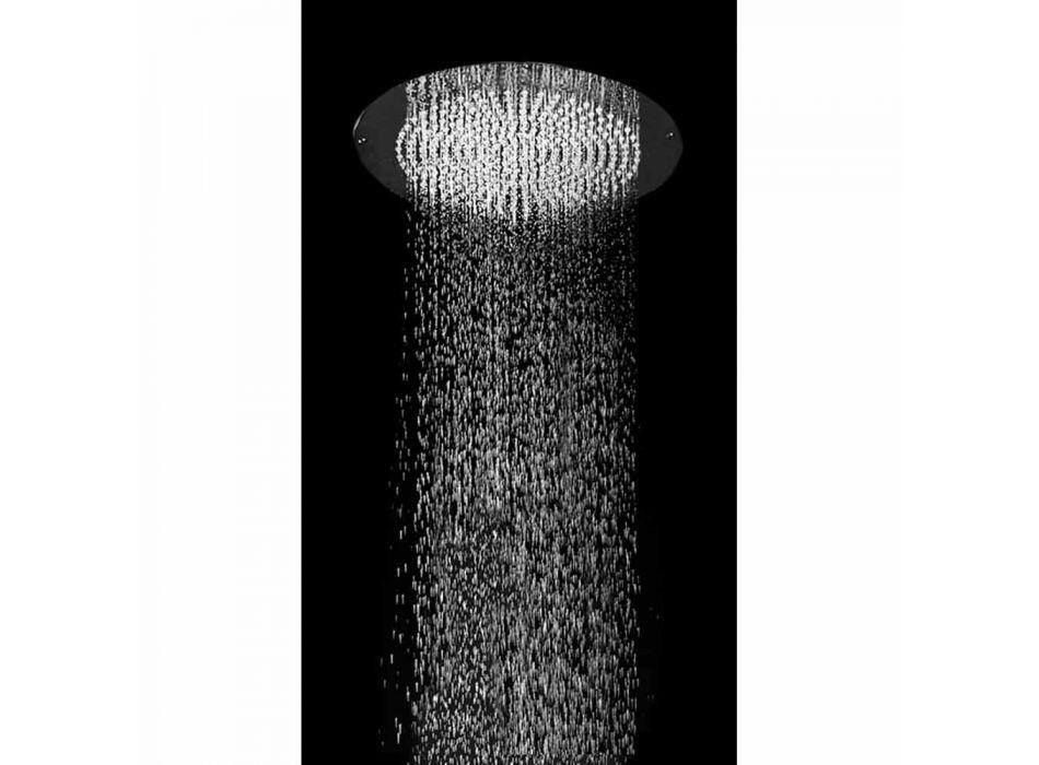 Bossini cap de duș Lumini cu Led Oki plat Ø470mm