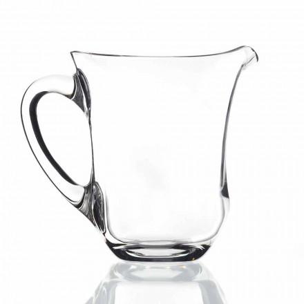 Vas de apă ecologic din cristal de design italian, 2 bucăți - Netezit