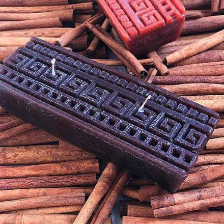 Lumânare parfumată cu scorțișoară făcută manual în Italia - Alissa