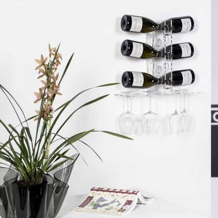 ușă Beci sticle transparente de perete Luna, design modern