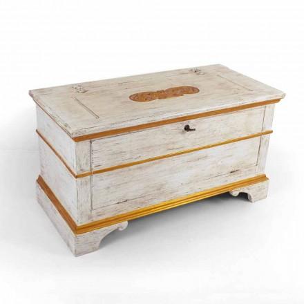Piept realizat manual din lemn masiv cu profile de aur fabricat în Italia - Caio