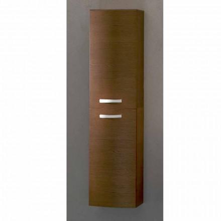 Gioia, cabinet de baie din lemn de stejar, realizat în Italia
