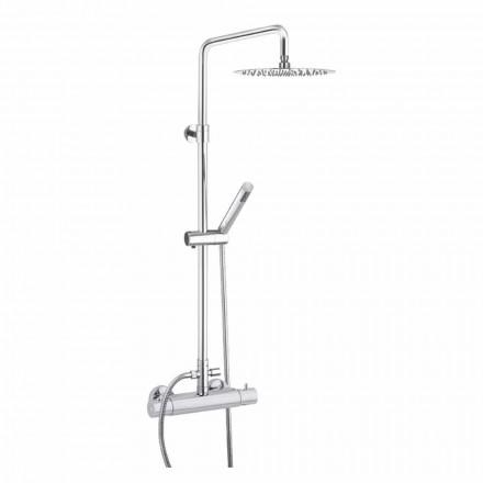 Coloană de duș cu cap de duș din oțel ultrafin fabricat în Italia - Studio