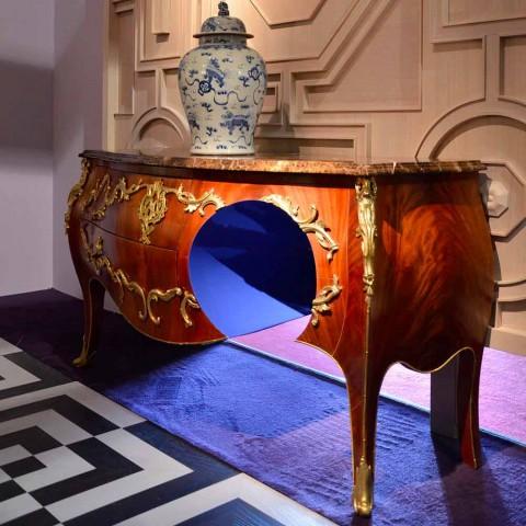 Dresser din marmura si decoratiuni in design ottore, realizate în Italia, Gildo