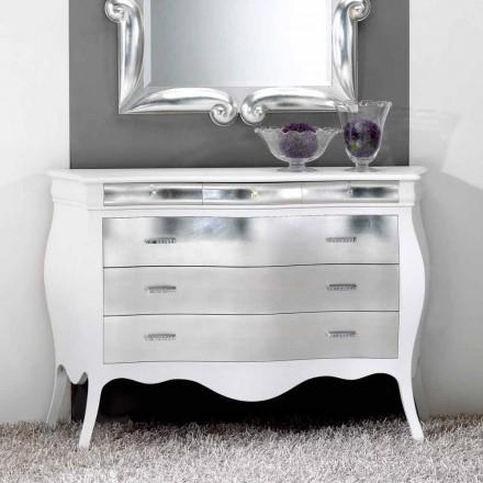 Dresser stil clasic din lemn masiv cu 6 sertare Bore