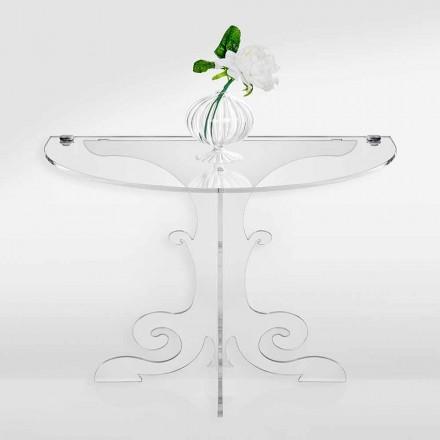 Noptieră clasică de design în cristal acrilic și PMMA, Tiana