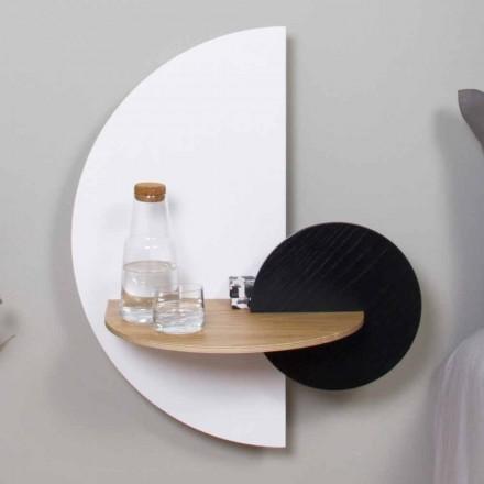 Noptieră modernă modulară în placaj Design elegant și versatil - Ramia