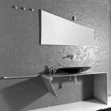 Mobilier de baie din blaturi moderne fabricat în Italia Luisa
