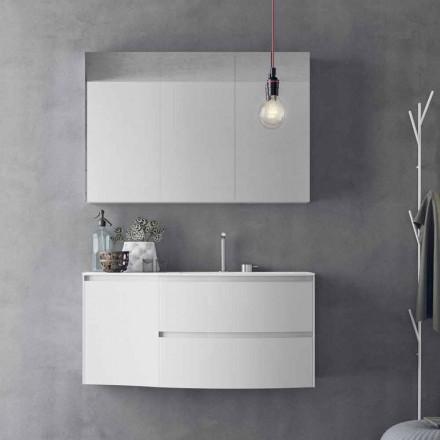 Compoziție de baie modernă și suspendată Fabricat în Italia Design - Callisi7