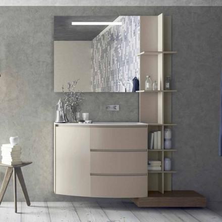 Compoziția mobilierului pentru baie cu design modern - Callisi13