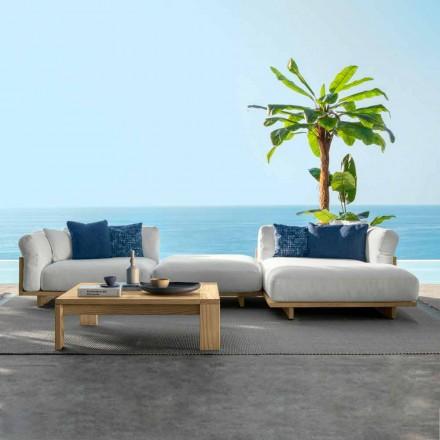 Compoziție Mobilier camera de zi pentru grădină Canapea și măsuță de cafea - Argo by Talenti