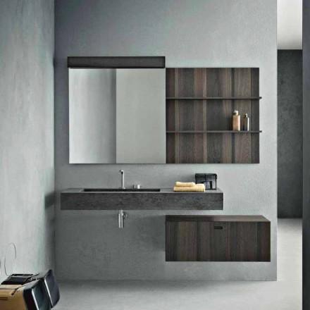 Compoziție pentru baie suspendată și design modern Made in Italy - Farart9