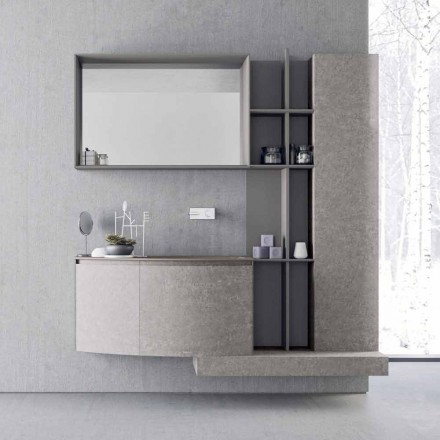 Compoziție de baie, suspensie de design modern italian - Callisi10
