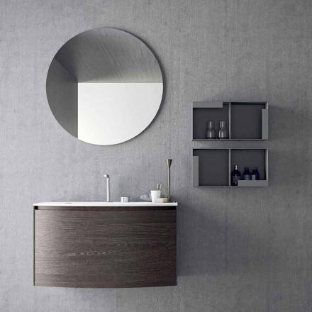 Compoziție pentru baie suspendată de design modern Made in Italy - Callisi11