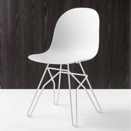 Connubia Academia Calligaris scaun de design modern, realizate în Italia, 2 buc