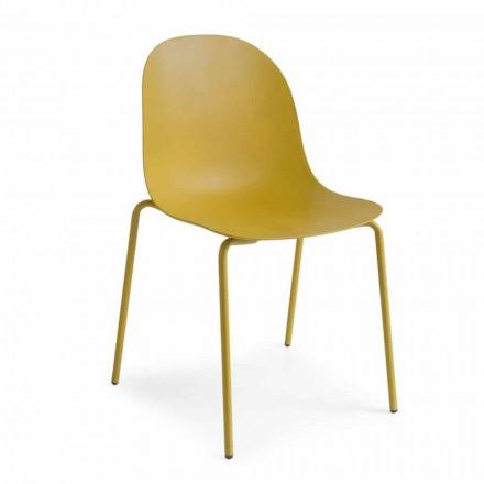 Connubia Academia CALLIGARIS de proiectare scaun de polipropilenă, 2 bucăți