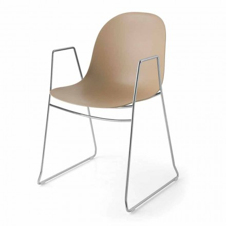 Connubia Academia Calligaris scaun modern din polipropilenă, 2 bucăți