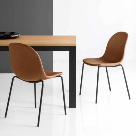 Connubia Academia Calligaris scaun de design italian de epocă, 2 buc