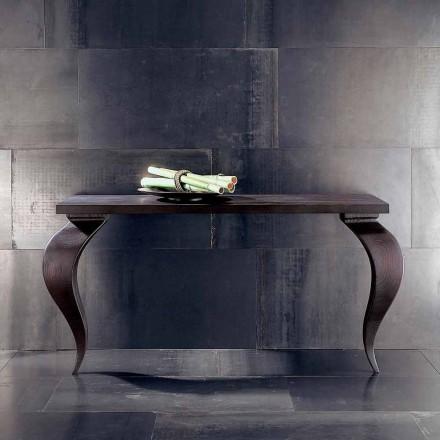 Consola pentru un design modern din lemn masiv de lux, L150xP50cm, Tino