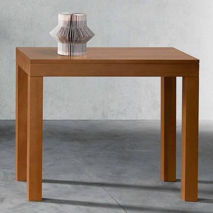Consol extensibil până la 12 locuri în lemn de nuc fabricat în Italia - Picchia