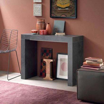 Consolă de masă extensibilă Până la 290 cm cu blat din lemn Made in Italy - Seregno