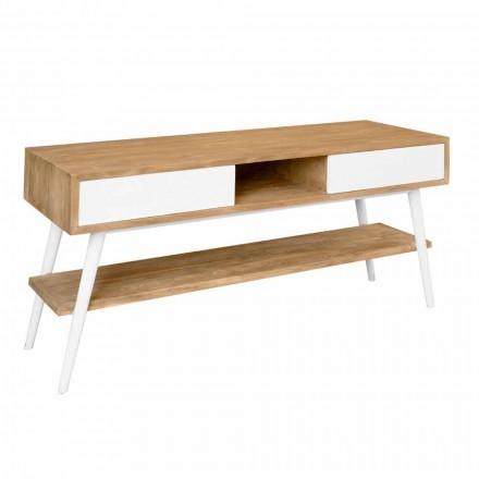Concepte moderne de baie din lemn de teak din tec Pistoia natural