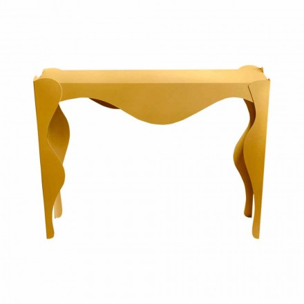 Consola de sufragerie design modern din fier colorat Made in Italy - Gertrude