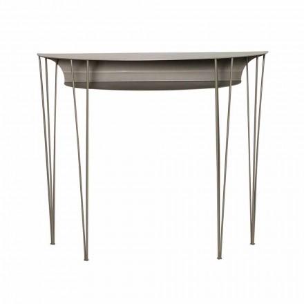 Consola de stil modern în sufragerie din oțel fabricată în Italia - Adalgiso