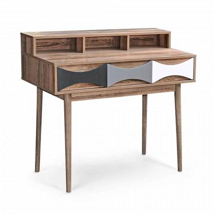 Consolă de design modernă din lemn de pin și MDF cu 3 sertare - Aruspice