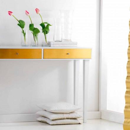Consola fixă sertare din lemn cu Beel, design modern
