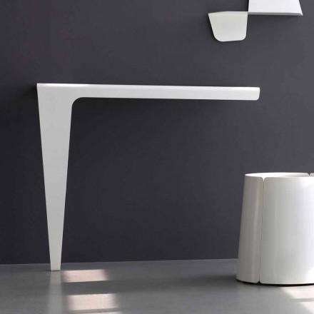 Consolă modernă de design minimalist din metal colorat Fabricat în Italia - Benjamin
