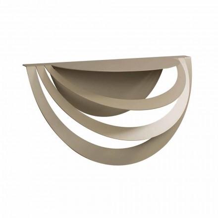 Consola suspendată din fier pentru design modern fabricat în Italia - Olfeo