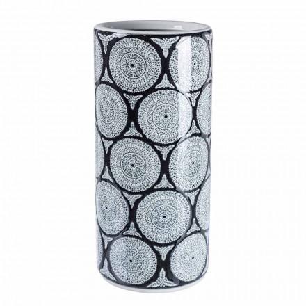 Pereche de suport pentru umbrele din porțelan modern cu decorațiuni Homemotion - Jimbo
