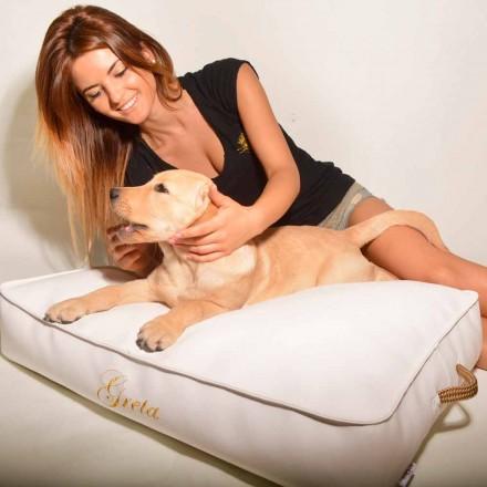 Câine perna acoperit cu imitație de piele interior Doggy Cloud
