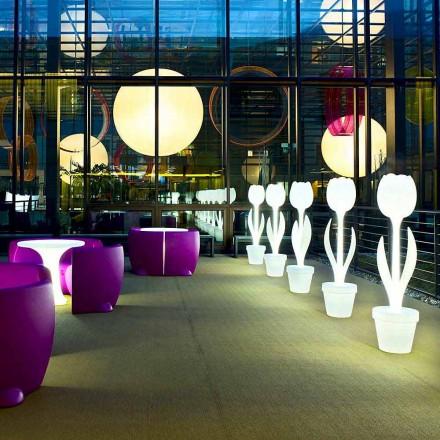 Decor de mobilier luminos pentru design interior, 2 bucăți - Lalea de Myyour