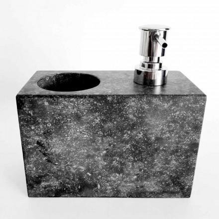 Distribuitor de săpun lichid cu sticlă de marmură fabricat în Italia - Clik