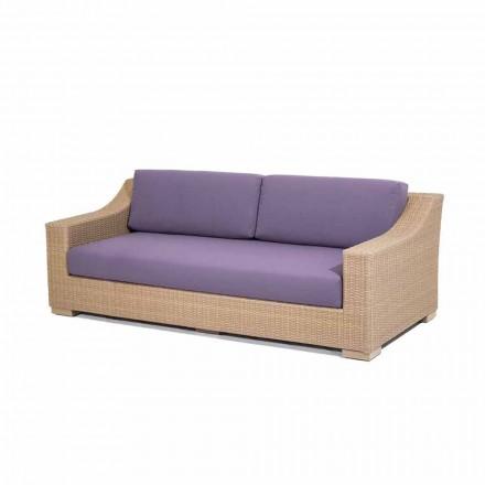 3 locuri canapea polietilenă în aer liber și Joe Tempotest