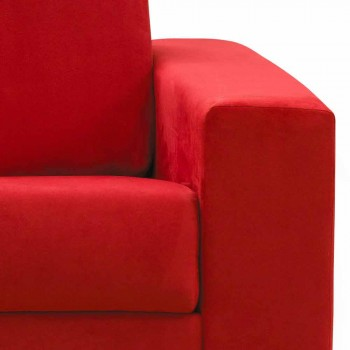 2 locuri canapea maxi faux moderne din piele / material textil made in Italy Mora