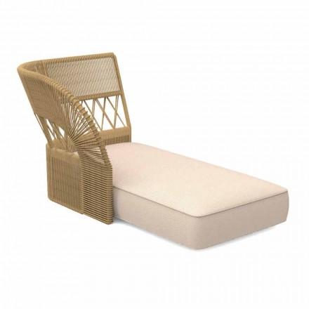 Canapea de șezlong în șes și grădină în grădină - Cliff Decò de Talenti