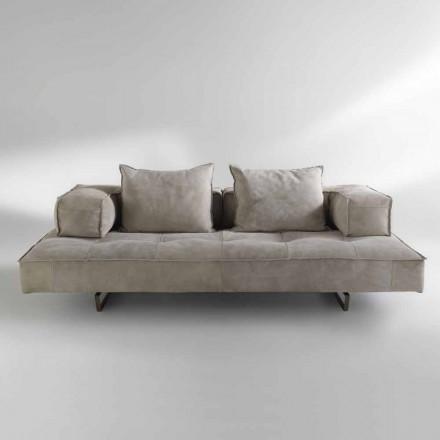 Canapea design modern Cardo, tapițerie din piele